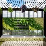 Tường xanh trong nhà